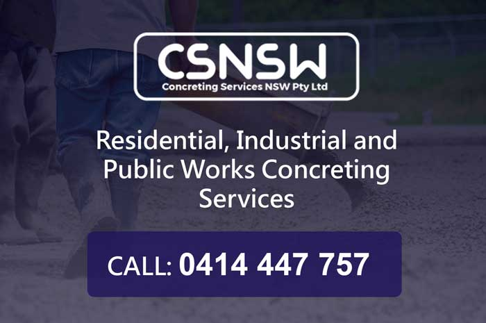 concreting services NSW